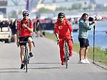 07.06.2019, Circuit Gilles Villeneuve, Montreal, FORMULA 1 GRAND PRIX DU CANADA, 07. - 09.06.2019<br /> , im Bild<br />Sebastian Vettel (GER#5), Scuderia Ferrari Mission Winnow kommt mit dem Fahrrad ins Fahrerlager<br /> <br /> Foto © nordphoto / Bratic