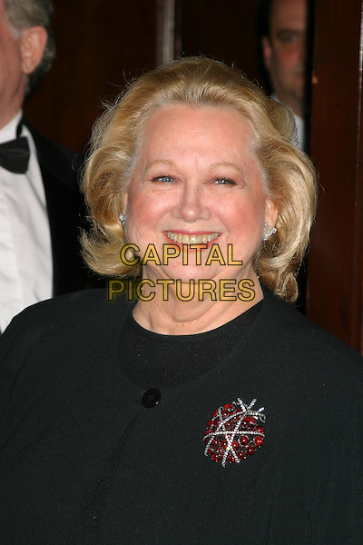 BARBARA COOK.The Actors Fund of America Gala at the Waldorf Astoria,  New York City, New York, USA, October 30th 2004. .portrait headshot.Ref: IW.www.capitalpictures.com.sales@capitalpictures.com.©Capital Pictures.