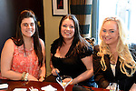 L-R: Keely Perryman, Victoria Stewart, Jade Griffiths