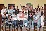 18TH: Mark McNamara (seated centre) celebrates his 18th birthday with his friends and family in The Manor Inn Hotel, Killorglin, last Saturday night..