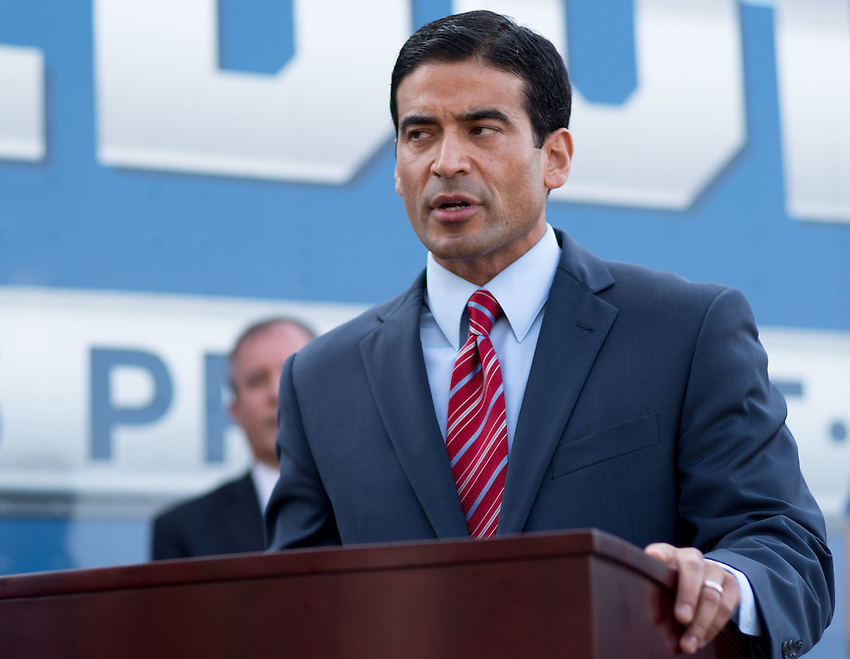"""Bexar County District Attorney Nicholas """"Nico"""" LaHood speaks during a press conference about combating human trafficking in Texas, Thursday, Sept. 1, 2016, at the San Antonio Police Department Public Safety Headquarters in San Antonio. (Darren Abate for the Texas Tribune)"""