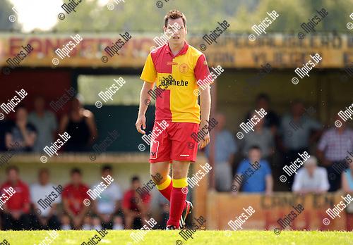 2014-07-27 / Voetbal / seizoen 2014-2015 / KFC Duffel / Jorn Rijmenams<br /><br />Foto: mpics.be