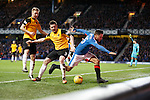 Harry Forrester slammed into the boards by Mark Docherty