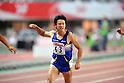 Masashi Eriguchi (JPN),  .JUNE 9, 2012 - Athletics : The 96th Japan Athletics National Championships Osaka 2012, Men's 100m final at Nagai Stadium, Osaka, Japan. (Photo by Jun Tsukida/AFLO SPORT) [0003]