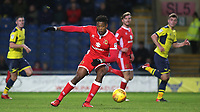 Chuks Aneke of MK Dons in action during Oxford United vs MK Dons, Sky Bet EFL League 1 Football at the Kassam Stadium on 1st January 2018