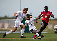 Bradenton, FL - Friday April 15, 2017: The U.S. Soccer Under-17 Men's National Team plays the Monteverde Academy Eagles at IMG Academy.