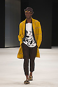 "Collection by Abigal Panton, Northumbria University. Runway show ""Best of Graduate Fashion Week 2015"". Graduate Fashion Week takes place from 30 May to 2 June 2015 at the Old Truman Brewery, Brick Lane."