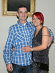 Alison Cowley celebrating her 40th birthday in the d hotel with husband Steven. Photo:Colin Bell/pressphotos.ie