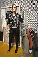 Spanish model and fashion designer Nieves Alvarez.<br /> FIMI, International Kids Fashion Fair, at Palacio de Cristal of the Casa de Campo in Madrid on January 19, 2018.