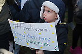 Rally in West Hampstead, London, to demand the release of Nazanin Zaghari-Ratcliffe from prison in Iran.