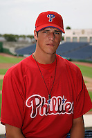 July 9, 2009:  Pitcher Ryan Sasaki (34) of the GCL Phillies during a game at Bright House Networks Field in Clearwater, FL.  The GCL Phillies are the Gulf Coast Rookie League affiliate of the Philadelphia Phillies.  Photo By Mike Janes/Four Seam Images