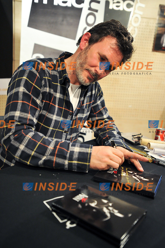 Michel Hazanavicius Regista del Film The Artist con il Cesar e l'Oscar .Parigi 20/3/2012.Foto Insidefoto / Lionel Urman / Panoramic.ITALY ONLY