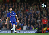12th September 2017, Stamford Bridge, London, England; UEFA Champions League Group stage, Chelsea versus Qarabag FK; Cesc Fabregas of Chelsea in action