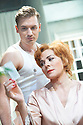 Sweet Bird of Youth by Tennessee Williams directed by Marrianne Elliott. With Kim Cattrall as Alexandra Del Lago, Seth Numrich as Chance Wayne. Opens At The Old Vic  Theatre on 12/6/13. CREDIT Geraint Lewis