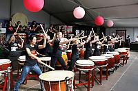 Nederland   Amstelveen   2017 04 08. Cherry Blossom Festival in het Amsterdamse Bos .  Beat of Spirit.  Berlinda van Dam / Hollandse Hoogte