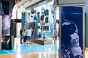 August 7, 2013. Chapel Hill, North Carolina.<br />  The Carolina Basketball Museum is located just down the street from the Dean Smith Center where the team plays.