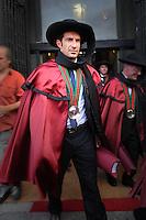 Etronização como confrade da Confraria de Vinho do Porto..Palácio da Bolsa, Porto, 27 de Junho de 2009.