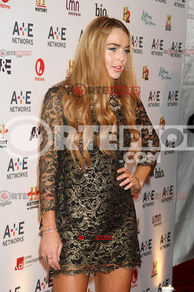 May 09, 2012 Lindsay Lohan attends the A&E Network 2012Upfront at Lincoln Center in New York City. Credit: RW/MediaPunch Inc.