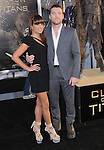 Sam Worthington & Natalie Mark at The Warner Bros. Pictures L.A. Premiere of Clash of The Titans held at The Grauman's Chinese Theatre in Hollywood, California on March 31,2010                                                                   Copyright 2010  DVS / RockinExposures
