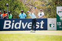 Thomas Detry (BEL) on the 13th tee during the final round of the Nedbank Golf Challenge hosted by Gary Player,  Gary Player country Club, Sun City, Rustenburg, South Africa. 11/11/2018 <br /> Picture: Golffile | Tyrone Winfield<br /> <br /> <br /> All photo usage must carry mandatory copyright credit (&copy; Golffile | Tyrone Winfield)