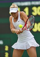 England, London, 28.06.2014. Tennis, Wimbledon, AELTC, Sabine Lisicki (GER)<br /> Photo: Tennisimages/Henk Koster