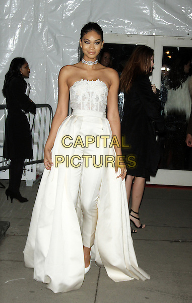 02 10, 2016: Chanel Iman at 2016 amfAR New York Gala at Cipriani Wall Street  in New York. <br /> CAP/MPI/RW<br /> &copy;RW/MPI/Capital Pictures