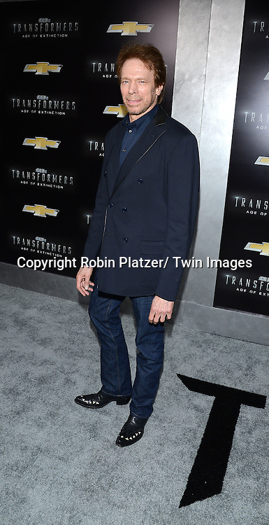 """attends the US Premiere of """"Transformers: Age of Extinction"""" on June 25, 2014 at The Ziegfeld Theatre in New York City, New York, USA."""