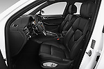Front seat view of a 2019 Porsche Macan Base 5 Door SUV front seat car photos
