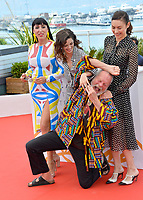Rossy De Palma, Joana Ribeiro, Olga Kurylenko &amp; Terry Gilliam at the photocall for &quot;The Man Who Killed Don Quixote&quot; at the 71st Festival de Cannes, Cannes, France 19 May 2018<br /> Picture: Paul Smith/Featureflash/SilverHub 0208 004 5359 sales@silverhubmedia.com