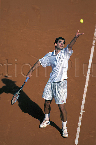 01.06.1996 Paris, France.  Pete Sampras (USA) French Open 1996, Grand Slam, ATP Tour Paris, Roland Garros