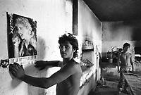 - Villaggio albanese, Queparo (Cepar&ograve;, agosto 1993);..il garzone del fornaio<br /> <br /> -  Albanian  Village, Queparo (Cepar&ograve;, August 1993);..the baker's boy