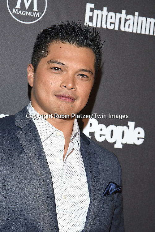 Vincent Rodriguez III attends the Entertainment Weekly &amp; PEOPLE Magazine New York Upfronts Celebration on May 16, 2016 at Cedar Lake in New York, New York, USA.<br /> <br /> photo by Robin Platzer/Twin Images<br />  <br /> phone number 212-935-0770