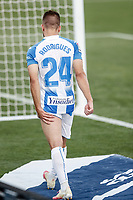 12th July 2020; Estadio Municipal de Butarque, Madrid, Spain; La Liga Football, Club Deportivo Leganes versus Valencia; Kevin Rodriguez (CD Leganes) on the sideline with a hamstring injury