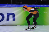 SCHAATSEN: HEERENVEEN: 01-02-2014, IJsstadion Thialf, Olympische testwedstrijd Yvonne Nauta, ©foto Martin de Jong