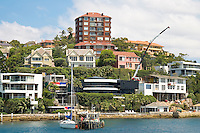 Waterfront residences, Point Piper, Double Bay, Sydney Harbour,  Australia