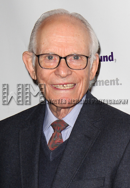 Alan Bergman.attending the Actors Fund Gala honoring Harry Belafonte, Jerry Stiller, Anne Meara & David Steiner at the Mariott Marquis Hotel in New York City on 5/21/12