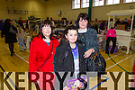 Pictured at the Christmas food and crafts fair in Duagh Sports and Leisure Centre on Sunday were L-R Betty Gaire, Duagh, Sarah Jane Walsh and Breda Gaire Walsh, Knocknagoshel.