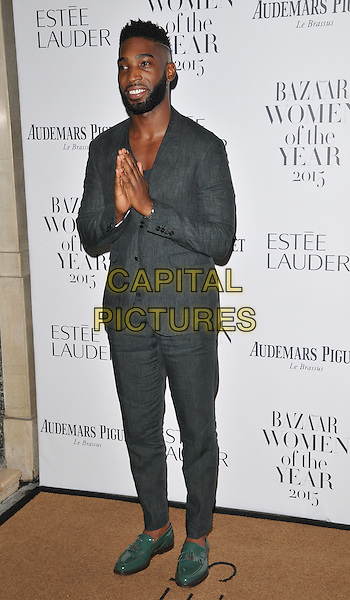Tinie Tempah ( Patrick Okogwu ) attends the Harper's Bazaar Women of the Year Awards 2015, Claridge's Hotel, Brook Street, London, England, UK, on Tuesday 03 November 2015. <br /> CAP/CAN<br /> &copy;CAN/Capital Pictures