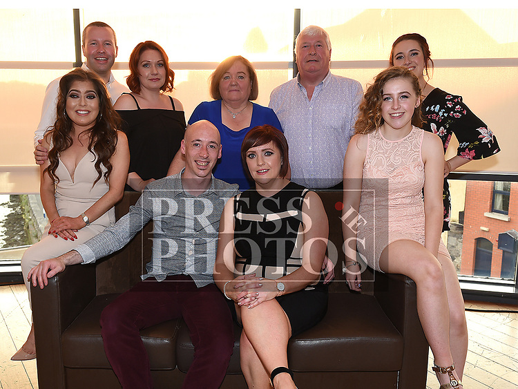 Sabrina Burke celebrating her 40th birthday in Brú with husband Eric and her family. Photo:Colin Bell/pressphotos.ie