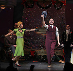 Clarke Thorell & J. Elaine Marcos during the Broadway Opening Night Performance Curtain Call for 'Annie' at the Palace Theatre in New York City on 11/08/2012