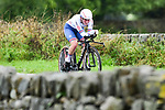 Alice Barnes of Great Britain in action during the Women's Elite Individual Time Trial of the UCI World Championships 2019 running 30.3km from Ripon to Harrogate, England. 24th September 2019.<br /> Picture: Alex Broadway/SWPix.com | Cyclefile<br /> <br /> All photos usage must carry mandatory copyright credit (© Cyclefile | Alex Broadway/SWPix.com)