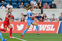 Bridgeview, IL - Saturday August 12, 2017: Katie Naughton during a regular season National Women's Soccer League (NWSL) match between the Chicago Red Stars and the Portland Thorns FC at Toyota Park. Portland won 3-2.