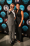 Imanol Arias and Irene Meritxell attends the photocall before the concert of spanish singer Poveda in Royal Theater in Madrid, Spain. July 23, 2015.<br />  (ALTERPHOTOS/BorjaB.Hojas)