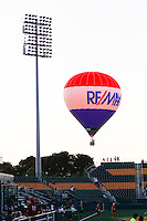 Rochester, NY - Friday June 24, 2016: A RE/MAX balloon during a regular season National Women's Soccer League (NWSL) match between the Western New York Flash and the Boston Breakers at Rochester Rhinos Stadium.