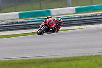 2nd November 2019; Sepang Circuit, Sepang Malaysia; MotoGP Malaysia, Qualifying Day;  The number 9 Ducati Corse Team rider Danilo Petrucci during qualifying - Editorial Use