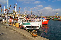 Deep sea trawlers moored in Newlyn Harbour Cornwall..©shoutpictures.com..john@shoutpictures.com
