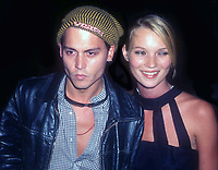 Johnny Depp Kate Moss 1995<br /> Photo By John Barrett/PHOTOlink