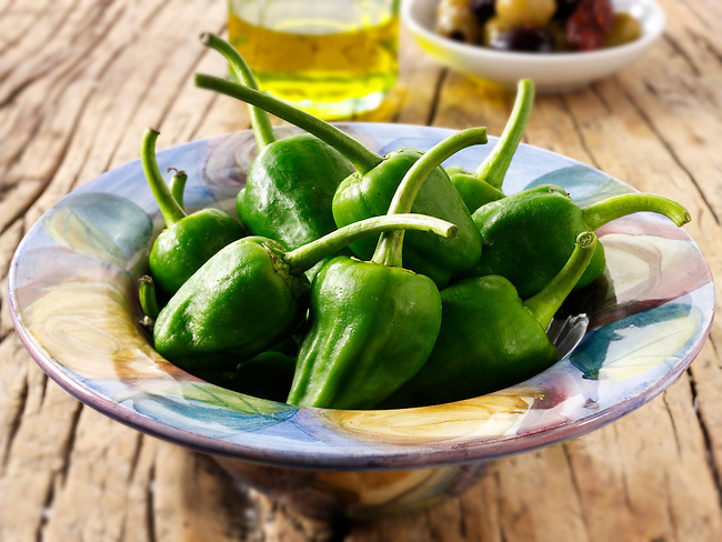 Fresh Padron peppers