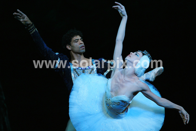 **ALL ROUND PICTURES FROM SOLARPIX.COM**.**WORLDWIDE SYNDICATION RIGHTS**.Carlos Acosta and the rest of the Ballet Nacional De Cuba (Cuba National Ballet) perform their latest Swan Lake rehearsal at Coliseum, St Martin's Lane, London, UK. 30 March 2010..This pic: Ballet Nacional De Cuba..JOB REF: 11019 LNJ     DATE: 30_03_2010.**MUST CREDIT SOLARPIX.COM OR DOUBLE FEE WILL BE CHARGED**.**MUST NOTIFY SOLARPIX OF ONLINE USAGE**.**CALL US ON: +34 952 811 768 or LOW RATE FROM UK 0844 617 7637**