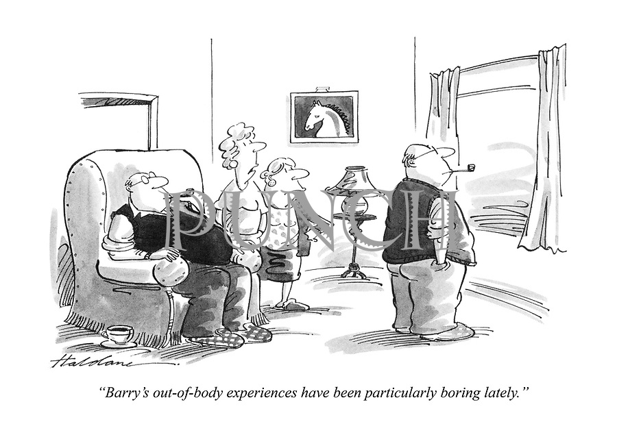 """Barry's out-of-body experiences have been particularly boring lately."""